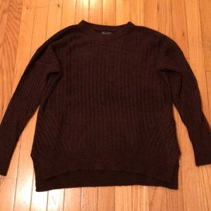 Abercrombie ribbed pullover sweater